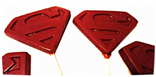 Superman Lolly